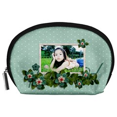 Pouch (l) : Flower Power By Jennyl   Accessory Pouch (large)   Qodowrp45l1m   Www Artscow Com Front