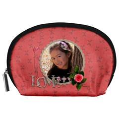 Pouch (l) : Love By Jennyl   Accessory Pouch (large)   D4ojt5czcq4s   Www Artscow Com Front