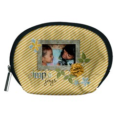 Pouch (m): Simple Joys By Jennyl   Accessory Pouch (medium)   M7c3mt5mrzeo   Www Artscow Com Front