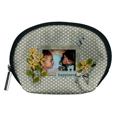 Pouch (m): Happiness By Jennyl   Accessory Pouch (medium)   Myttcriiqny8   Www Artscow Com Front