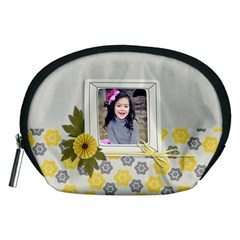 Pouch (m): Happy By Jennyl   Accessory Pouch (medium)   Wncsrqvk1dx1   Www Artscow Com Front