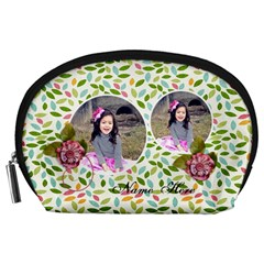 Pouch (l) : Summer Smiles By Jennyl   Accessory Pouch (large)   Ezyc2df3fix9   Www Artscow Com Front