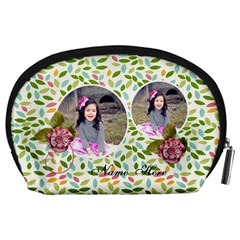 Pouch (l) : Summer Smiles By Jennyl   Accessory Pouch (large)   Ezyc2df3fix9   Www Artscow Com Back