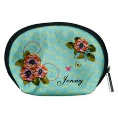 Pouch (m): Flowers By Jennyl   Accessory Pouch (medium)   Dlyjt2gb3c4m   Www Artscow Com Back