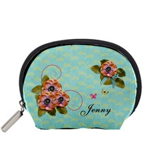 Pouch (s): Flowers By Jennyl   Accessory Pouch (small)   4e34ddbz0cnp   Www Artscow Com Front