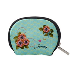 Pouch (s): Flowers By Jennyl   Accessory Pouch (small)   4e34ddbz0cnp   Www Artscow Com Back