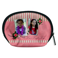 Pouch (m): Live Laugh Love By Jennyl   Accessory Pouch (medium)   Hqvnr6mpfnur   Www Artscow Com Back
