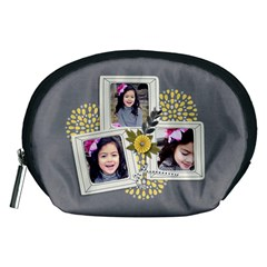 Pouch (m): Happy2 By Jennyl   Accessory Pouch (medium)   Lt048a4cjt98   Www Artscow Com Front