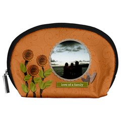 Pouch (l) : Love Of Family By Jennyl   Accessory Pouch (large)   Fi1bhyt1bx7w   Www Artscow Com Front