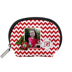 Pouch (s): Red Chevron By Jennyl   Accessory Pouch (small)   Yrmya6dia1ly   Www Artscow Com Front
