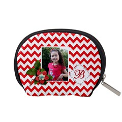 Pouch (s): Red Chevron By Jennyl   Accessory Pouch (small)   Yrmya6dia1ly   Www Artscow Com Back