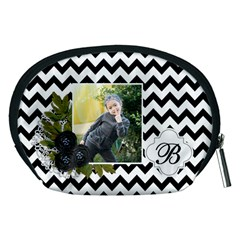 Pouch (m): Black Chevron By Jennyl   Accessory Pouch (medium)   Wiw2cyp4hvfl   Www Artscow Com Back