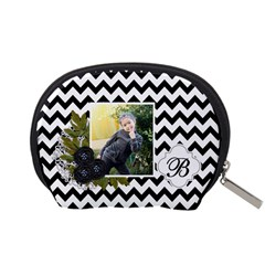 Pouch (s): Black Chevron By Jennyl   Accessory Pouch (small)   Dldskjwzqx34   Www Artscow Com Back