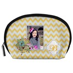 Pouch (L) : Yellow Chevron - Accessory Pouch (Large)