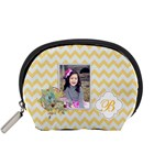 Pouch (S): Yellow Chevron - Accessory Pouch (Small)