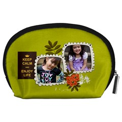 Pouch (l) : Keep Calm By Jennyl   Accessory Pouch (large)   S73lgomqmctq   Www Artscow Com Back