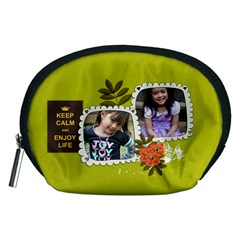 Pouch (m): Keep Calm By Jennyl   Accessory Pouch (medium)   65wo4y6x9q48   Www Artscow Com Front