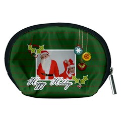 Pouch (m): Happy Holidays By Jennyl   Accessory Pouch (medium)   Xijolb8evko4   Www Artscow Com Back
