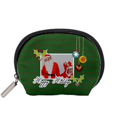 Pouch (s): Happy Holidays By Jennyl   Accessory Pouch (small)   Nnfahgpyi7c6   Www Artscow Com Front