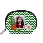 Pouch (S): Green Chevron - Accessory Pouch (Small)