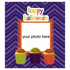 Happy Halloween Drawstring Pouch L By Zornitza   Drawstring Pouch (large)   Yqiucvjpvv85   Www Artscow Com Front