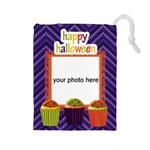 Happy Halloween Drawstring Pouch L - Drawstring Pouch (Large)