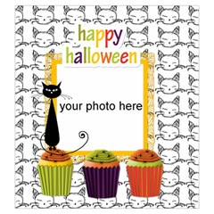 Happy Halloween 2 Drawstring Pouch L By Zornitza   Drawstring Pouch (large)   Xffto6qvopt5   Www Artscow Com Back
