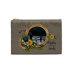 Cosmetic Bag (m)   Together By Jennyl   Cosmetic Bag (medium)   Faea5tz3i2l8   Www Artscow Com Front