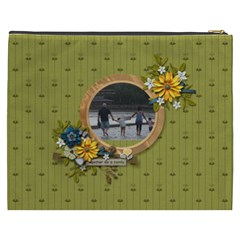 Cosmetic Bag (xxxl): Together As Family By Jennyl   Cosmetic Bag (xxxl)   Vmk698oc85tl   Www Artscow Com Back