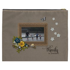 Cosmetic Bag (xxxl): Family Is Forever By Jennyl   Cosmetic Bag (xxxl)   T3iiiru0wwmj   Www Artscow Com Back
