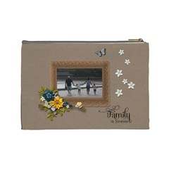 Cosmetic Bag (large)   Family Is Forever By Jennyl   Cosmetic Bag (large)   N9kdr6kk6254   Www Artscow Com Back