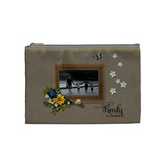 Cosmetic Bag (m)   Family Is Forever By Jennyl   Cosmetic Bag (medium)   2j7t8x0g106m   Www Artscow Com Front