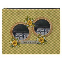 Cosmetic Bag (xxxl): Love Of Family By Jennyl   Cosmetic Bag (xxxl)   C2mvztrkl3pc   Www Artscow Com Front