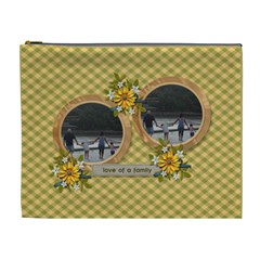 Cosmetic Bag (xl)   Love Of Family By Jennyl   Cosmetic Bag (xl)   Tdre45747sfv   Www Artscow Com Front