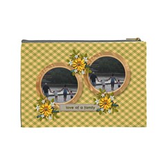 Cosmetic Bag (large)   Love Of Family By Jennyl   Cosmetic Bag (large)   Iqdown778odg   Www Artscow Com Back
