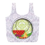 Fruits and Vegetables recycle bag L - Full Print Recycle Bag (L)
