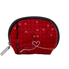 Acessory Pouch By Deca   Accessory Pouch (small)   Qbe08sxdmtpy   Www Artscow Com Front
