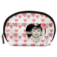 Acessory Pouch By Deca   Accessory Pouch (large)   3xvtqpq0xp1p   Www Artscow Com Front