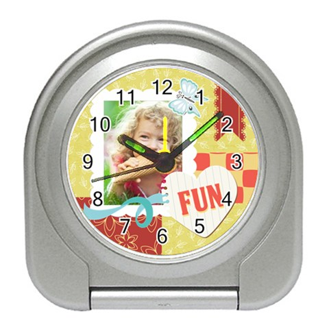 Kids By Kids   Travel Alarm Clock   E9hg6mg6l7gn   Www Artscow Com Front