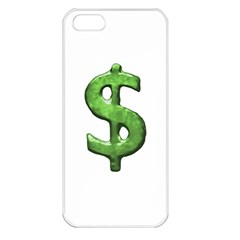 Grunge Style Money Sign Symbol Illustration Apple Iphone 5 Seamless Case (white) by dflcprints