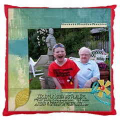 Nathan Cushion By Catvinnat   Large Cushion Case (two Sides)   Jhy2q1cf5jmj   Www Artscow Com Front