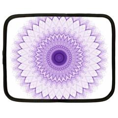 Mandala Netbook Sleeve (large) by Siebenhuehner