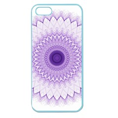 Mandala Apple Seamless Iphone 5 Case (color) by Siebenhuehner