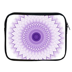 Mandala Apple Ipad Zippered Sleeve by Siebenhuehner
