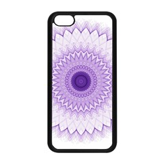 Mandala Apple Iphone 5c Seamless Case (black) by Siebenhuehner