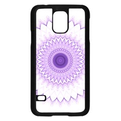 Mandala Samsung Galaxy S5 Case (black) by Siebenhuehner