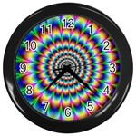 Picture_176 Wall Clock (Black)