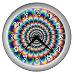 Picture_176 Wall Clock (Silver)