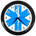 Picture_158 Wall Clock (Black)