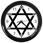 Picture_157 Wall Clock (Black)